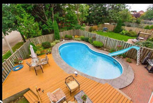 ****** HOME for rent with POOL & Finished W/O Basement