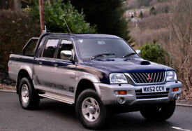 Mitsubishi L 200 ANIMAL. 2002. Blue/Silver