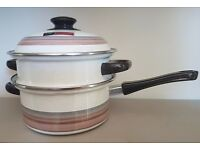 Vintage Pointerware double boiler