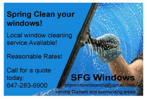 Window Cleaning - Reasonable Rates
