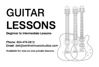 Guitar Lessons - Private