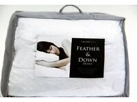 Duck Feather Down 15 tog Duvet (single)