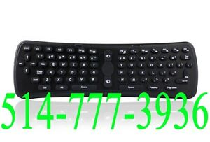 Wireless Keyboard avec Air Mouse sans fil 2.4GHz Clavier Android