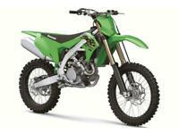 KAWASAKI KX 450 2021 MOTOCROSS BIKE BRAND NEW ELECTRIC START