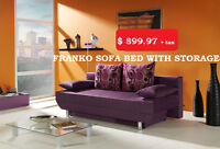 FRANKO SOFA BED WITH STORAGE