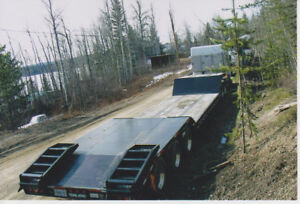 Tri Axle Lowbed 80,000 lbs