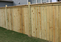 Do you need a FENCE built for you?