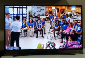 "LG 4K UHD SMART TV 43"""