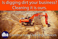 Is digging dirt your business? Cleaning it is ours.