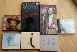 Frank Sinatra collection: 100+ discs and vinyl sold as a LOT