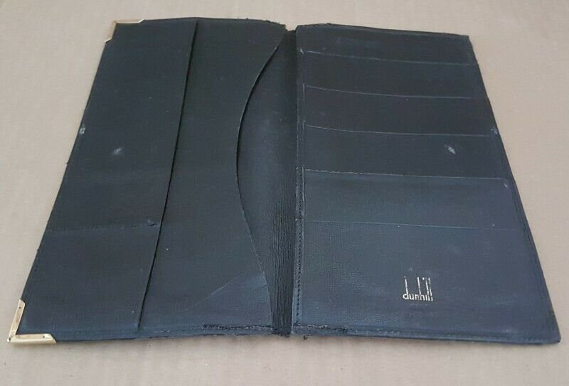 Luxury Dunhill Designer Leather Wallet, Dunhill of London, Dunhill Accessories, Made in West Germany