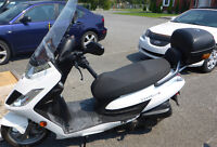SCOOTER KYMCO  FROST 200 i BLANC