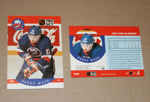 Pro Set 1990-91 hockey cards