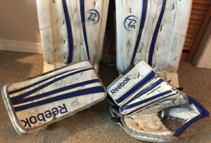 Sr. Full set Goalie Gear pro spec