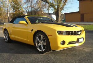 2012 Chevrolet Camaro 2 LT RS Convertible