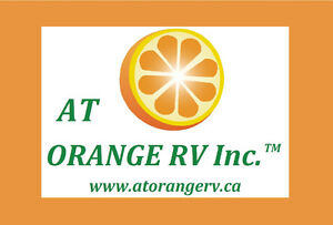 Who does 100% RV consignment ? AT ORANGE RV INC
