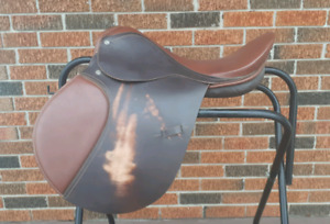 "17.5"" All Purpose English Saddle"