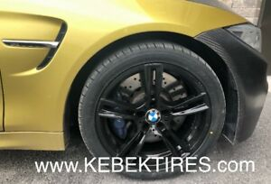 4 PNEUS RUNFLAT NEW TIRE 245/50R18 KEBEK WHEEL BMW MERCEDES AUDI