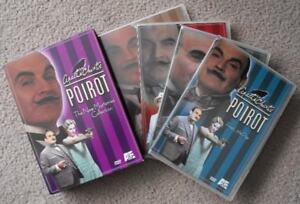 DVD Collections:  Poirot, Father Br, Friends & Once Upon a Time