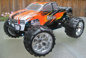 NEW RC Truck Nitro Gas Engine 1/8 Scale 2.4g  4WD