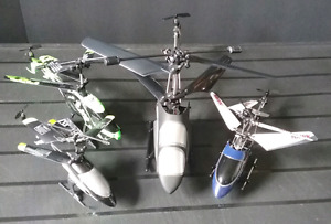 4 RC Helicopters for the price of one!!