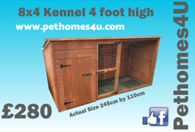 Dog kennels with runs