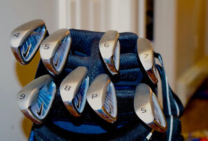 Women's RH Nike NDS Iron Set 4-PW,SW in Nike Stand Golf Bag Stratford Kitchener Area image 2