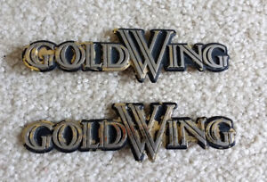 HONDA GOLDWING SIDE EMBLEMS