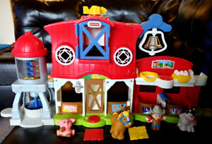 Fisher-price caring for animals Farm - $25