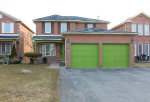 beautiful,  big lot ,walk out, detached house in Ajax for sale