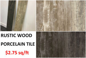 PORCELAIN FLOOR AND WALL TILES - *FREE SHIPPING*