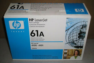 Genuine - HP LaserJet 61A Black Toner Cartridge (C8061A)