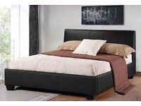 CASH ON DELIVERY // BRAND NEW FAUX LEATHER BED FRAME AND MATTRESS DOUBLE/SINGLE