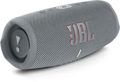 JBL Charge5 Mobiler Lautsprecher grau Bluetooth IP67 Powerbank Funktion