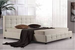Brand New Ella Full Pu Leather D Bed.We Can Deliver It Under 3 Hr Seven Hills Blacktown Area Preview