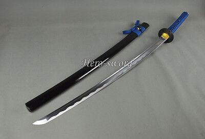 3HANDMADE JAPANESE SAMURAI KATANA SWORD 1060 HIGH CARBON STEEL FULL TANG SHARP