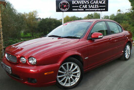2008 JAGUAR X-TYPE S 2.2D 4DR - JUST 38,665 MILES - S/HISTORY - GREAT SPEC