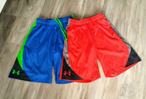 Under Armour Boys/Youth Shorts, Size L