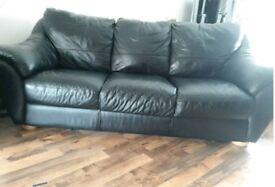Marinelli Italian Leather Sofa