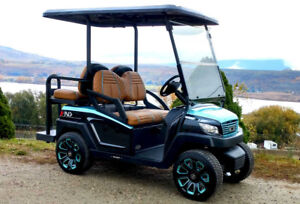 Custom Golf Cart - R4 - California MC