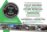 Professional Tree & Yard Services