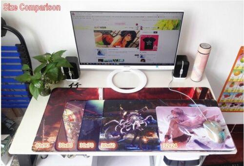 Anime Azur Lane Mouse Pad Atago Shoukaku Taihou Large Keyboard Play Game Mat