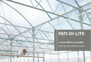 8 mil Thick Diffused Greenhouse  Poly (Width 20' 28')