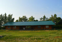 Selling beautiful 2500 sq ft log home with onsite RV motel.