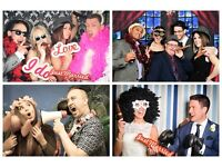 Bespoke Themed Photo Booth Services from just £195.00! Perfect for Weddings & Corporate events