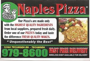 Pizza makers needs for work and delivery drivers  Sarnia Sarnia Area image 3