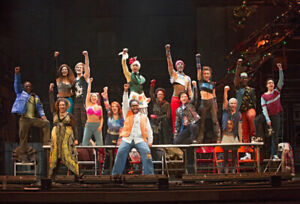 RENT - REAL FRONT ROW SEATS  -NAC - OCT 23 AND 25