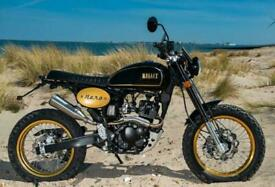 Bullit Motorcycles Hero 125 - Scrambler Style - Learner Legal- Retro- Old School