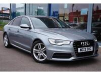 2012 AUDI A6 3.0 TDI Quattro S Line S Tronic Auto NAV, FULL LEATHER and XENONS