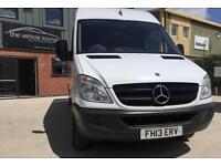 2013 (13) Mercedes-Benz Sprinter 2.1TD 313CDI LWB White